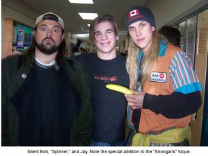 Kevin Smith is ok in my book because he understands the greatness of Degrassi.