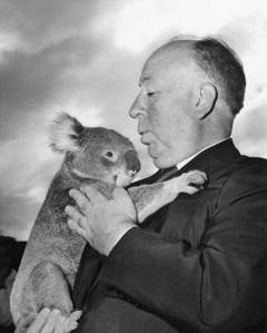 Hitchcock and a koala