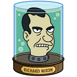 Richard Nixon's Head