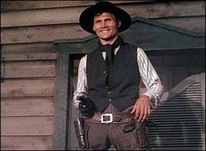 I was quite impressed with the menacing grin on Jack Palance's face