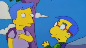 Is this the untimely end of Milhouse?
