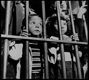 The communists do have a point- children in jail are adorable.