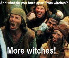 monty python witch scene