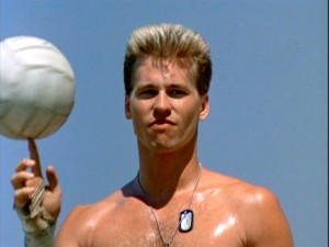 'Val Kilmer will only do this project if he can play a game of volleyball with his shirt off.' 'ok, Mr. Kilmer but I don't know what that has to do with Top Gun' 'Val Kilmer doesn't care. Bring Val Kilmer a sandwich.'
